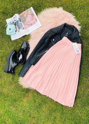 Новая юбочка!нежно розовая  .