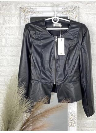 Куртка из кожзама only
