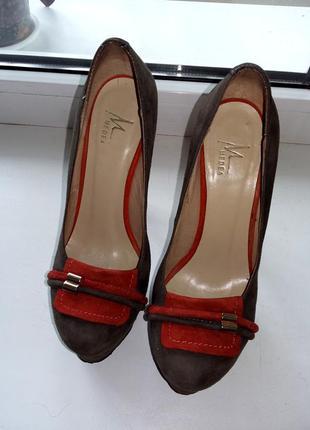 Туфли из натуральной замши2