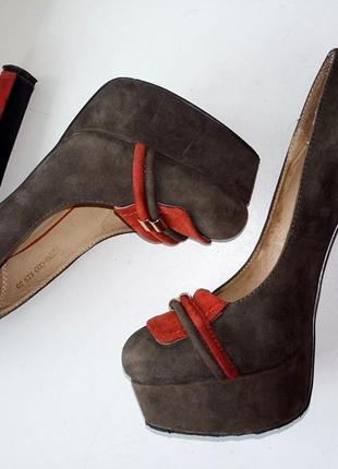 Туфли из натуральной замши3