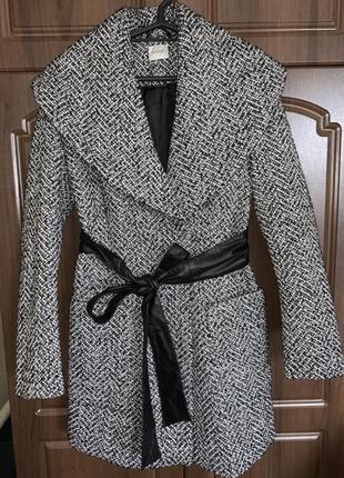 Стильное пальто воротник хамут ❤️