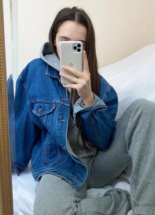 Джинсовая куртка пиджак levi's