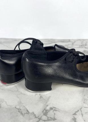 Туфли для степа bloch, 12.5 (20 см), кожзам2 фото
