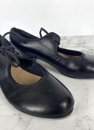 Туфли для степа bloch, 12.5 (20 см), кожзам3 фото