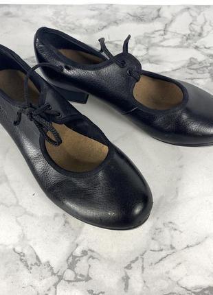 Туфли для степа bloch, 12.5 (20 см), кожзам