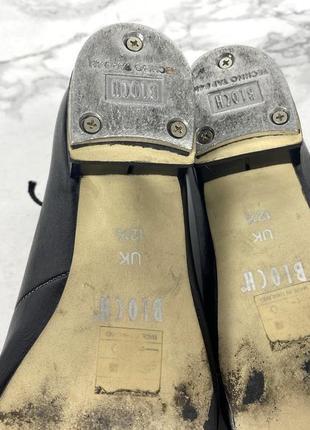 Туфли для степа bloch, 12.5 (20 см), кожзам4 фото
