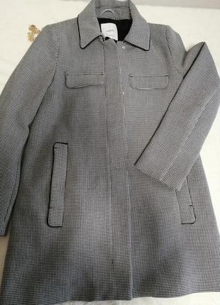 Пальто в гусиную лапку