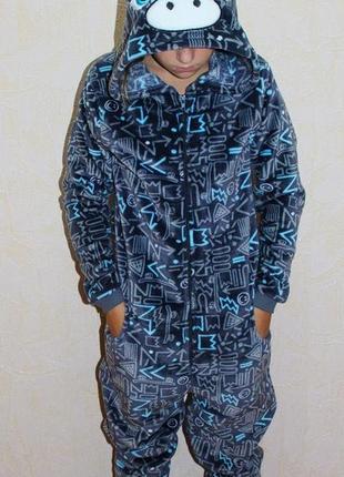 Пижама піжама махрова кигуруми кігурумі