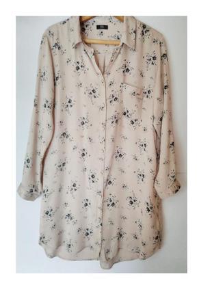 Платье -рубашка/ туника , размер м-l