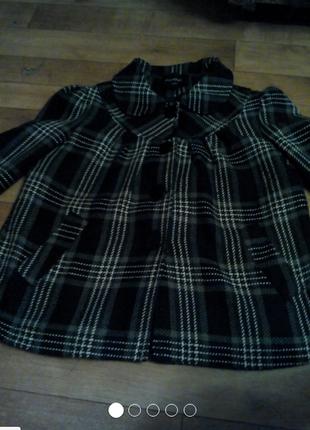 Пальто деми 16размер