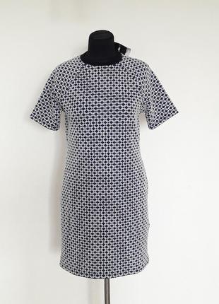 Topshop платье, фактурная ткпнь мальтийский крест. новое, с биркой