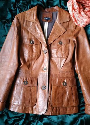 Кожаная женская куртка-пиджакassos-турция-жіноча куртка