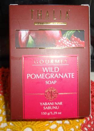 Натуральное мыло с экстрактом дикого граната от thalia , 150 г