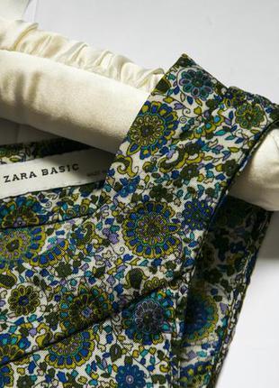 Легкое вискозное платье zara