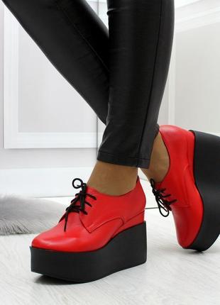 Шикарные краснып туфли