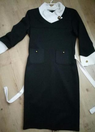 Афигенное черное платье