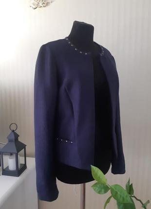 Жакет / пиджак синий от promod