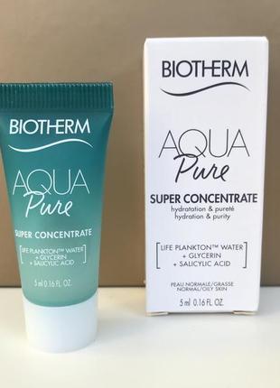 Концентрат biotherm aqua pure super concentrate
