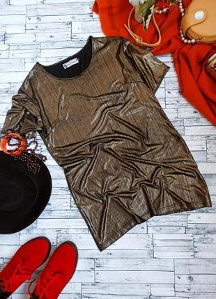 Вечернее блестящее платье футболка свободного силуэта hearts and bows