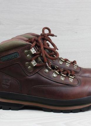 Кожаные ботинки timberland оригинал, размер 37 - 38