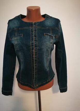 Джинсовый пиджак/куртка/ !👍