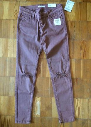 Стильные летние джинсы р. xs