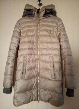 Пуховик утепленная куртка clasna размер xs