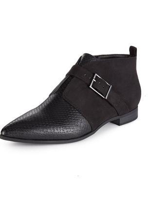 Брендовые остроносые ботиночки (туфли) с insolia flex®
