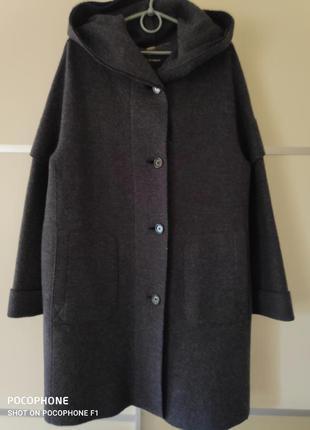 Пальто оверсайз 50-54р