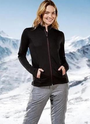 Функциональная термокофта- курточка crivit германия размер xs 32-34 наш 38-40