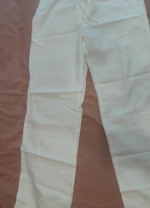 Льняные штаны old navy на об 105-107, новые без бирки