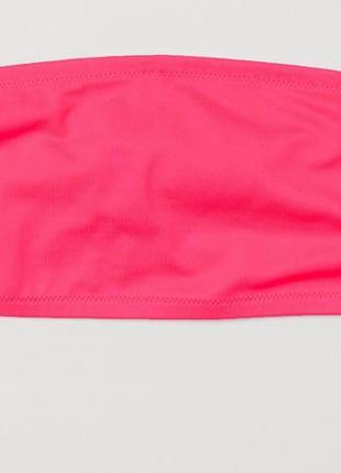 Верхняя часть купальника h&m 46 / 3xl розовый  61388