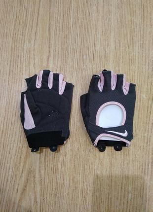 Велоперчатки с логотипом nike перчатки