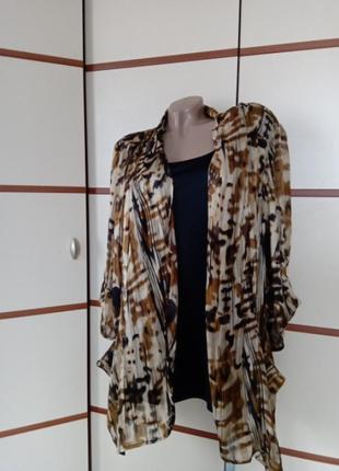 Блузка жакет