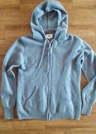 Кашемировый свитер с капюшоном kshmr tribu