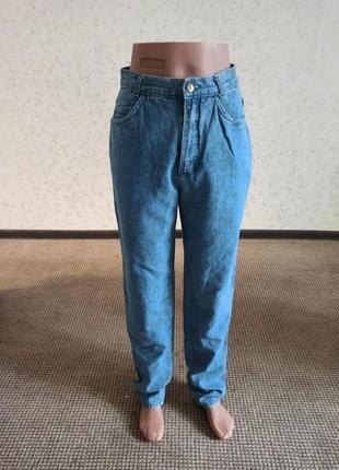 Мом джинсы, высокая посадка, moms на высокую девушку