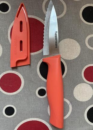 Нож для овощей с чехлом tupperware