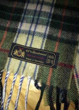Calw-теплейший классический шарф, 💯% овечья шерсть!3 фото