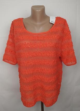 Блуза новая оригинальная оранжевая george uk 10/38/s