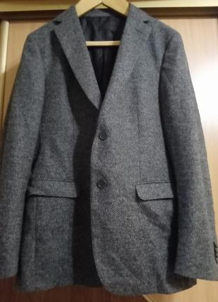 Шерстяный шикарный ультра лёгкий пиджак zegna original italia