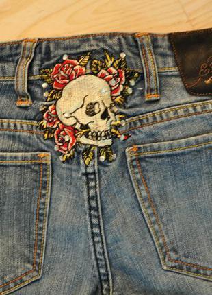 Модные джинсы ed hardy