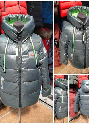 Трендовая зимняя куртка зима
