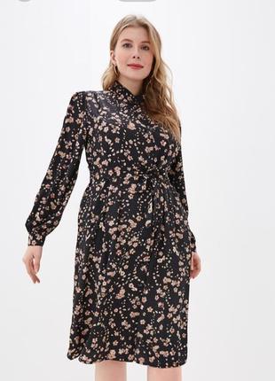Яркое цветочное платье ovs