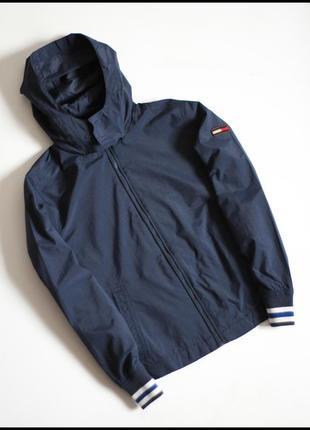 Tommy hilfiger 135-145 оригинал детская куртка демисезонная