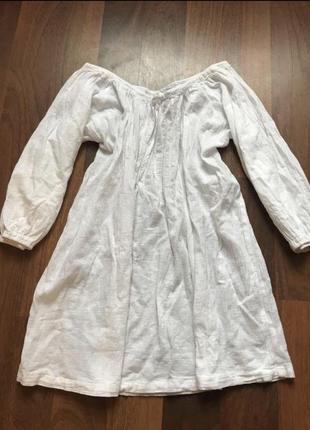 Льняная блуза льняна блуза