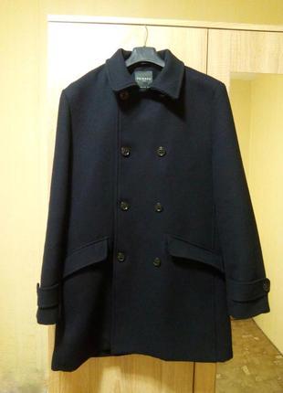 Брендовое шерстяное пальто полупальто куртка - идеально на осень
