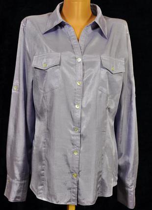 Стильная вискозная рубашка daniel hechter