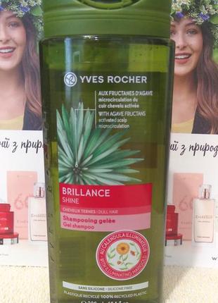 Шампунь-гель для волос жизненная сила и блеск ив роше yves rocher