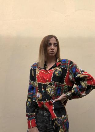 Блуза в стиле dolce&gabbana