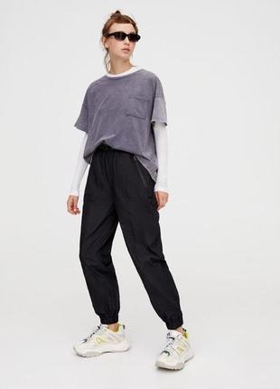 Нейлоновые крутые штаны шелестящие